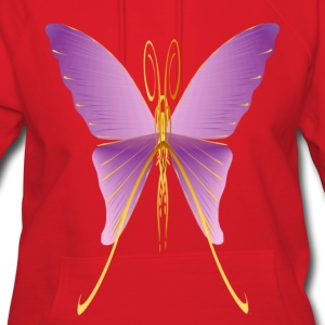 One Big Purple Butterfly - Women's Hoodie