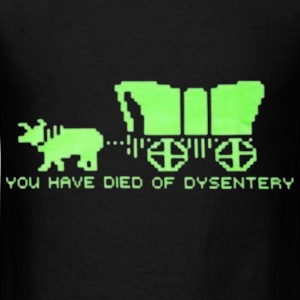 dysentery (for dark bkg) T-Shirts - Men's T-Shirt