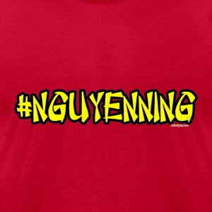 #Nguyenning - Men's T-Shirt by American Apparel
