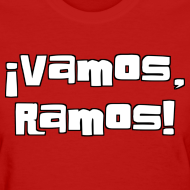 Design ~ Vamos, Ramos! With number on back.