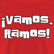 Design ~ Vamos, Ramos! No number on back.