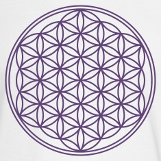 FLOWER OF LIFE - vector | men's long sleeve tee