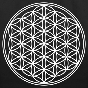 FLOWER OF LIFE - vector | eco-friendly cotton tote - Eco-Friendly Cotton Tote