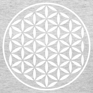FLOWER OF LIFE - vector stamp | women's long sleev - Women's Long Sleeve Jersey T-Shirt