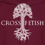 Design ~ Mens Cross-fetish hoodie with CFO on back