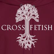 Design ~ Mens Cross-fetish hoodie with CFO on back