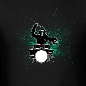 Drum Monkeys - Men's T-Shirt
