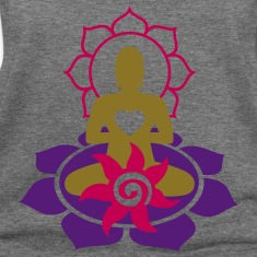 BUDDHA ENERGY - vector | women's wideneck sweatshi