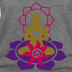 BUDDHA ENERGY - vector | women's wideneck sweatshi - Women's Wideneck Sweatshirt