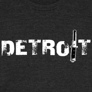 Detroit Switchcomb T-Shirts - Unisex Tri-Blend T-Shirt by American Apparel