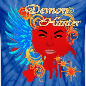 Demon Hunter 2 T-Shirts - Unisex Tie Dye T-Shirt