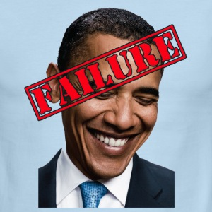 Anti Obama Failure T-Shirts - Men's Ringer T-Shirt