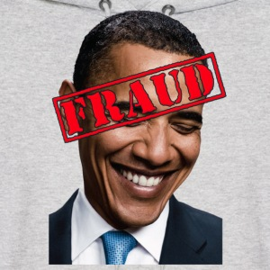 Anti Obama Fraud Hoodies - Men's Hoodie