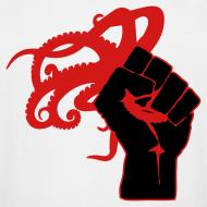 Design ~ Men's Tall Octopus Revolution (White)