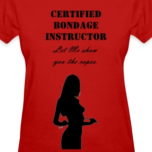 bondage_instructor Women's T-Shirts - Women's T-Shirt