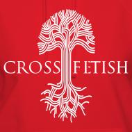 Design ~ Women's Cross-fetish hoodie with CFO on back