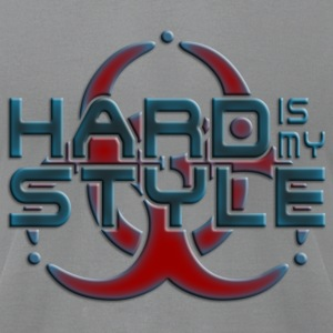 HARD IS MY STYLE - hardstyle pixel | men's america - Men's T-Shirt by American Apparel