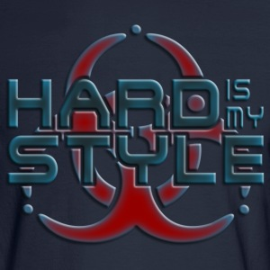 HARD IS MY STYLE - hardstyle pixel | men's long sl - Men's Long Sleeve T-Shirt