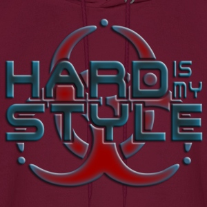 HARD IS MY STYLE - hardstyle pixel | men's hooded  - Men's Hoodie