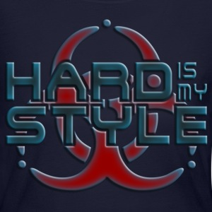 HARD IS MY STYLE - hardstyle pixel | women's long  - Women's Long Sleeve Jersey T-Shirt