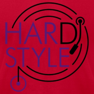 HARDSTYLE DJ | men's american apparel shirt - Men's T-Shirt by American Apparel