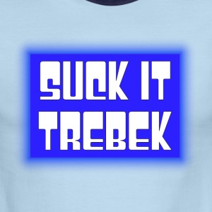 Suck it Trebek - Men's Ringer T-Shirt