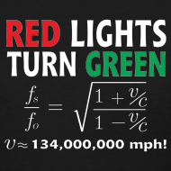 Design ~ Red Lights Turn Green (doppler shift effect)