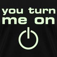 Design ~ You Turn Me On (glow in the dark)