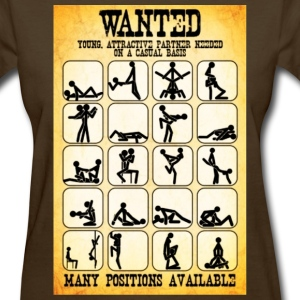Wanted Sex poster - Women's T-Shirt