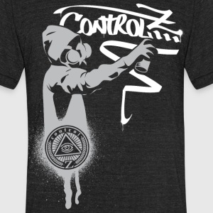 Graffiti Z by ControlZClothing.com T-Shirts - Unisex Tri-Blend T-Shirt by American Apparel