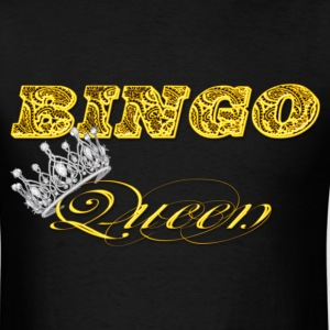 bingo queen crown gold styles T-Shirts - Men's T-Shirt