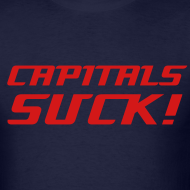 Design ~ Capitals Suck NHL Hockey Shirt