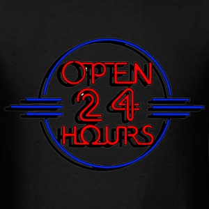 open_24_hours T-Shirts - Men's T-Shirt