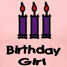 Birthday Girl With 3 Candles Long Sleeve Shirts
