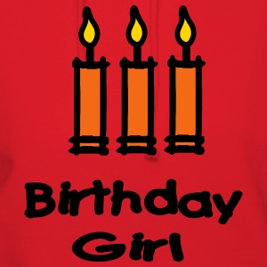 Birthday Girl With 3 Candles Hoodies - Women's Hoodie