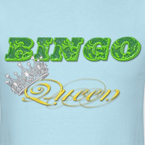 bingo queen crown green styles T-Shirts - Men's T-Shirt