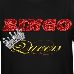 bingo queen crown red styles T-Shirts - Men's Tall T-Shirt