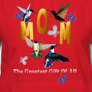 MOM. The greatest gift of all. - Women's Hoodie