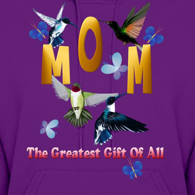 MOM. The greatest gift of all.