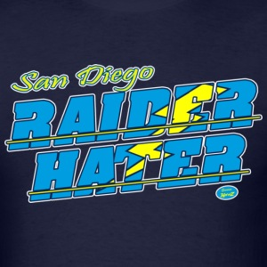 sd_raider_hater T-Shirts - Men's T-Shirt