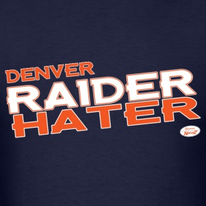 denver_raider_hater T-Shirts - Men's T-Shirt