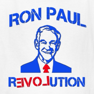 Ron Paul Revolution I Love Kids' Shirts - Kids' T-Shirt