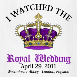 Royal Wedding Kids' Shirts - Kids' T-Shirt