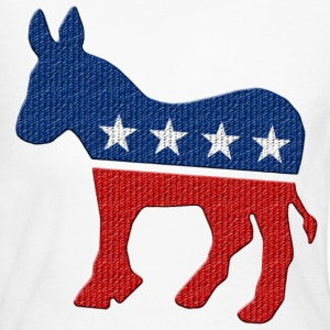 Democrat Donkey - Women's Long Sleeve Jersey T-Shirt