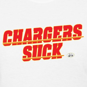 charger suck kc Women's T-Shirts - Women's T-Shirt