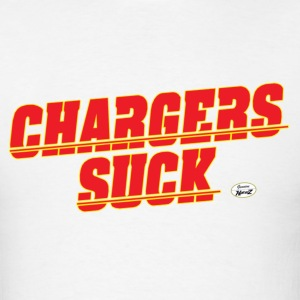 charger suck kc T-Shirts - Men's T-Shirt