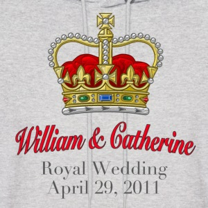 Royal Wedding William & Catherine April 29, 2011 Hoodies - Men's Hoodie