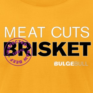 bulgebull_primal_cuts_6 T-Shirts - Men's T-Shirt by American Apparel