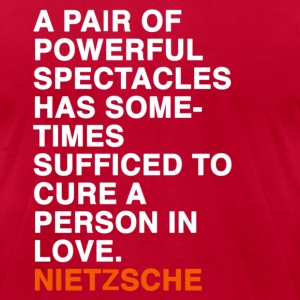 nietzsche quote T-Shirts - Men's T-Shirt by American Apparel