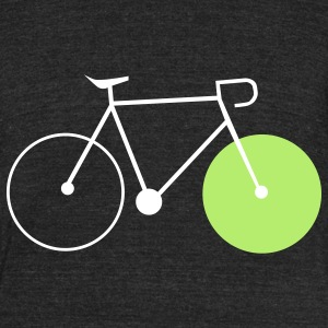 bike fahrrad fixie bike T-Shirts - Unisex Tri-Blend T-Shirt by American Apparel